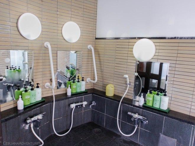Shared bathroom in Hotel Meijiya Hamamatsu Shizuoka