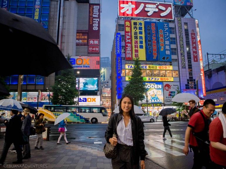 Akihabara at Night Tokyo Japan