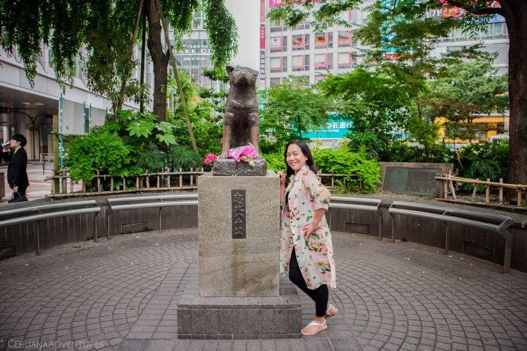 Hachiko Statue Shibuya Tokyo
