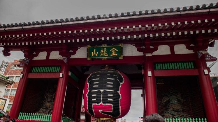 The Kaminarimon Senso-ji Temple