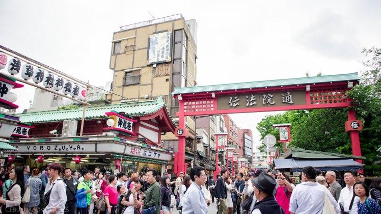 Sensoji Temple Tokyo Japan