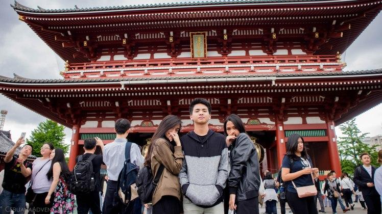 Hōzōmon Entrance at Senso-ji Temple