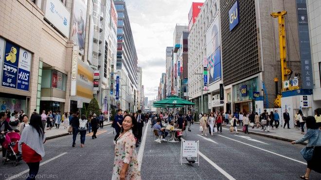 Ginza Tokyo Japan