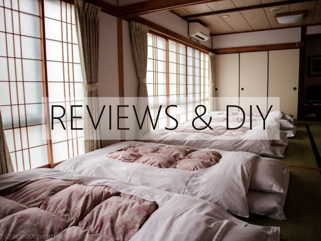 Category Reviews and DIY on Cebuana Adventures Website