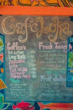 List of Cafes on Siargao
