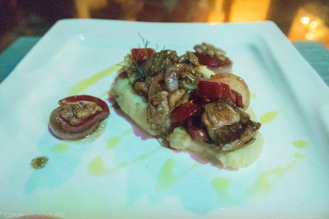 Food in Wind Beach Resort