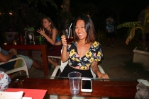 beach party in siargao