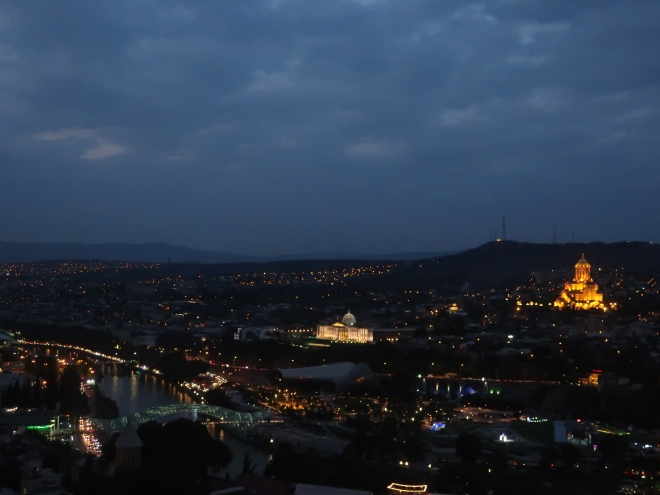 Tbilisi-at-night